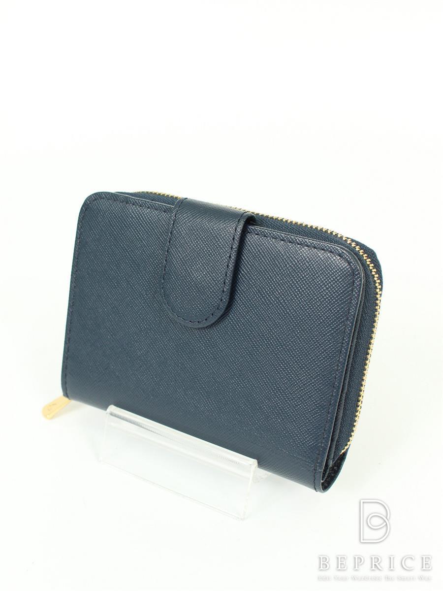 土屋鞄製造所 財布 二つ折り レザー