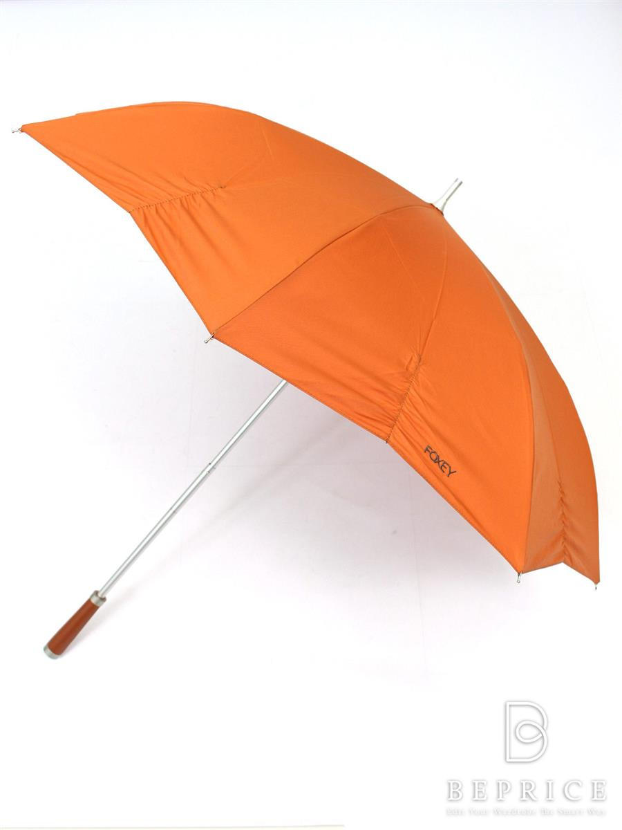 フォクシーブティック ストレートグリップ 折りたたみ傘