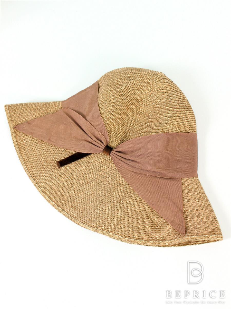 アシーナニューヨーク リボン付きハット帽子