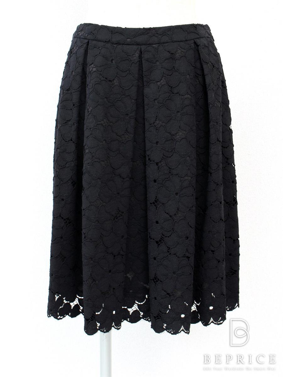 エムズグレイシー スカート スカート フレアー レース