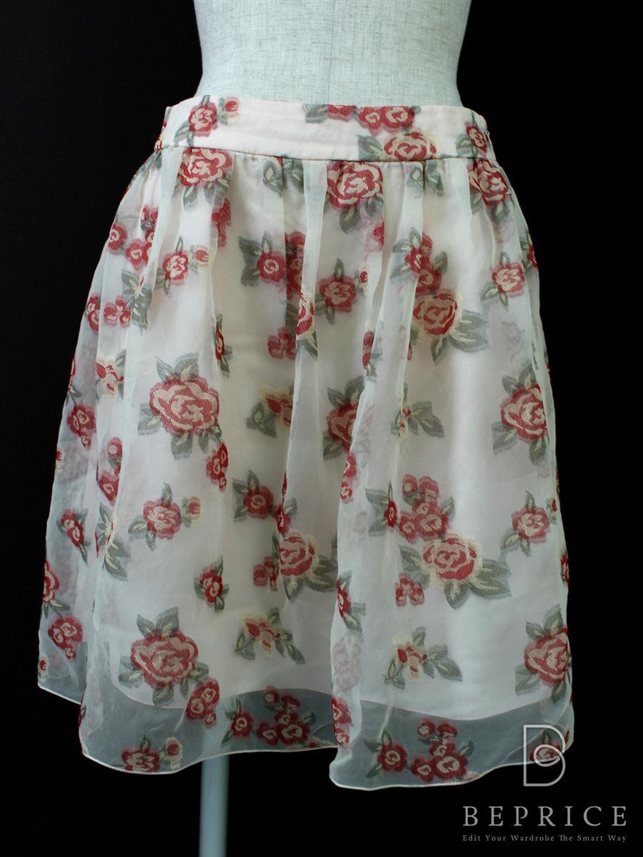 ハロッズ スカート スカート 花柄