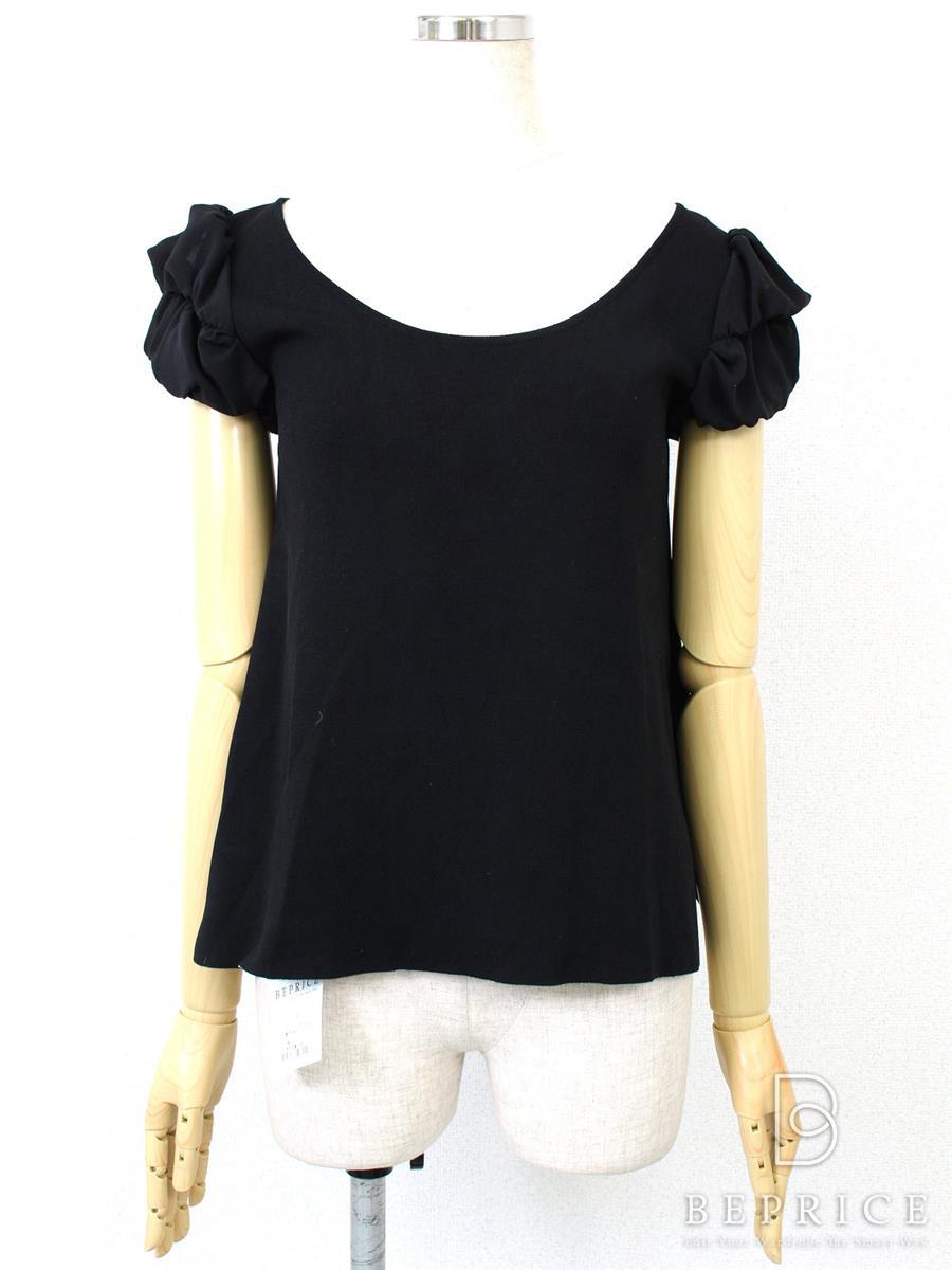 デイジーリン for フォクシー Tシャツ カットソー トップス パリブレスト 白薄汚れあり 31946