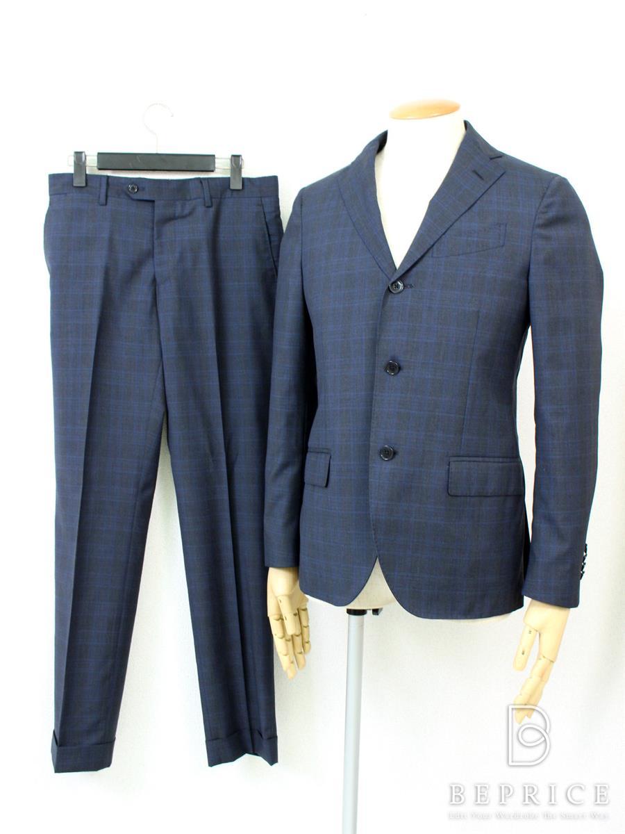 ラルディーニ スーツ LARDINI ラルディーニ スーツ チェック柄