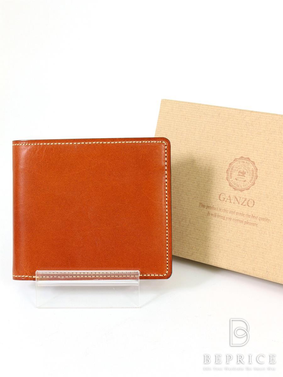 ガンゾ 財布 【GANZO/ガンゾ】二つ折り財布