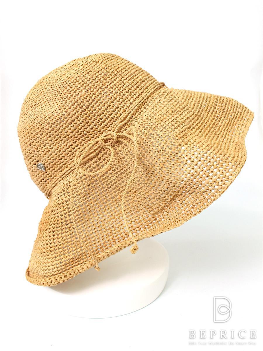 ヘレンカミンスキー ラフィアハット 帽子