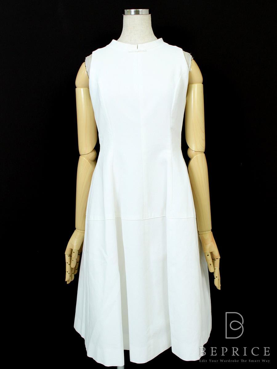 フォクシーブティック ワンピース クラスピケドレス 薄色あせあり