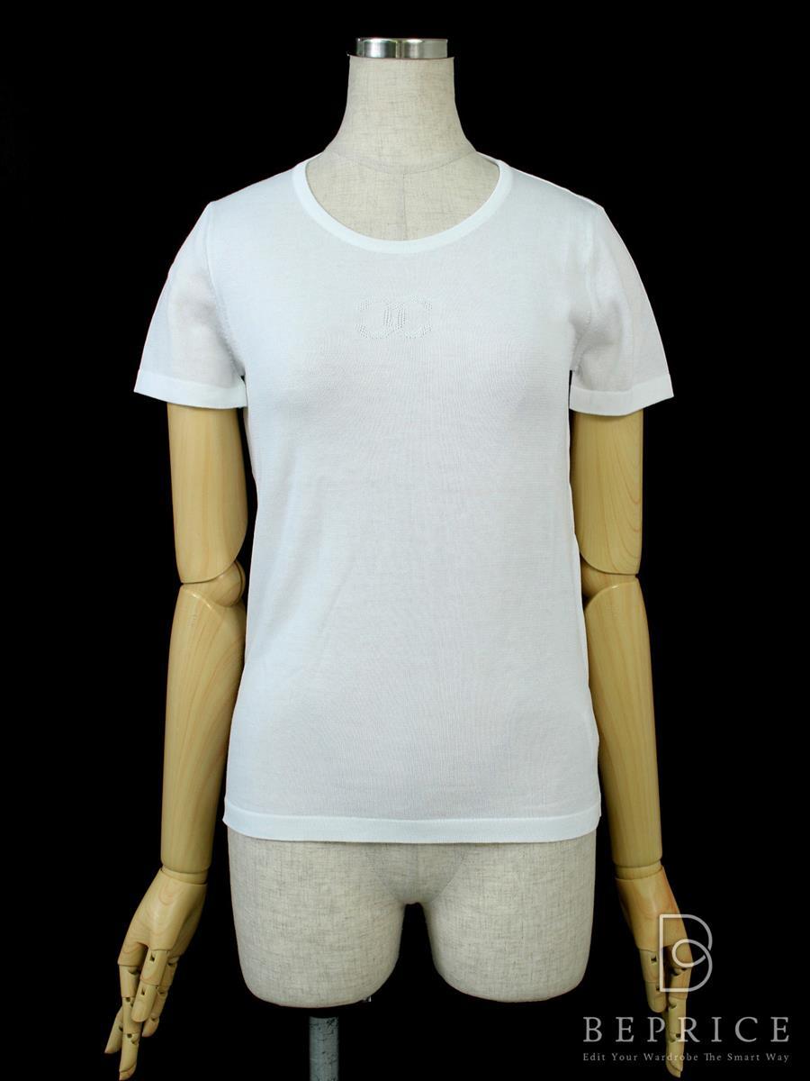 シャネル Tシャツ カットソー トップス 半袖