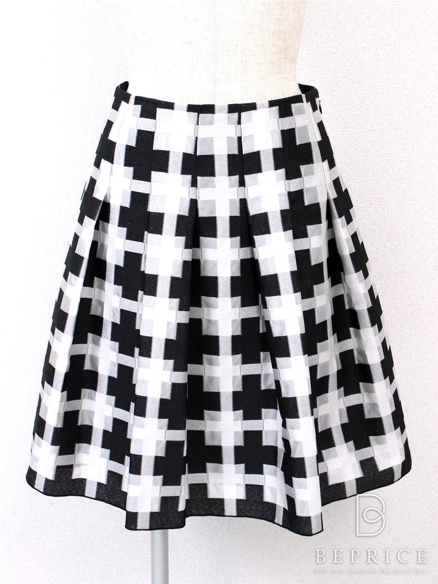 エムズグレイシー スカート スカート チェック