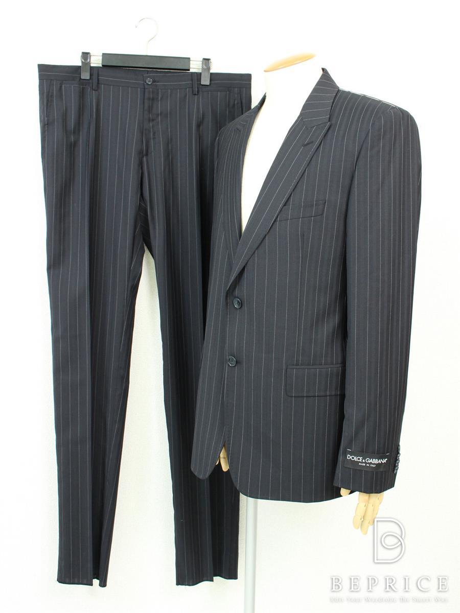 ドルチェ&ガッバーナ スーツ スーツ 2B ストライプ