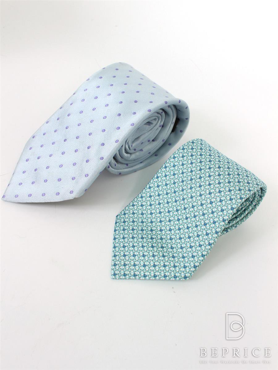 ルイヴィトン その他ファッション雑貨 ネクタイ 2点セット 薄汚れあり