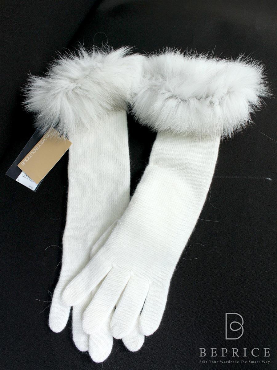 フォクシーブティック 手袋 手袋 フォックスファーグローブ 18303