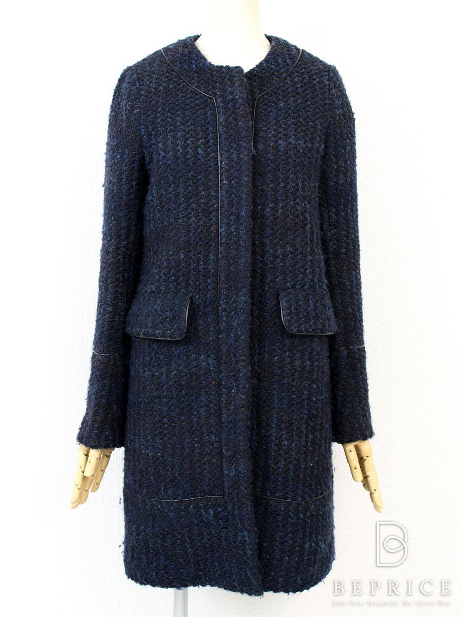 セオリー コート コート ツイード 毛玉あり