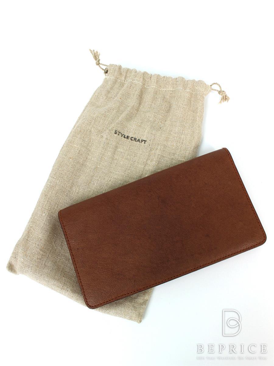 スタイルクラフト 財布 スタイルクラフト 二つ折り長財布