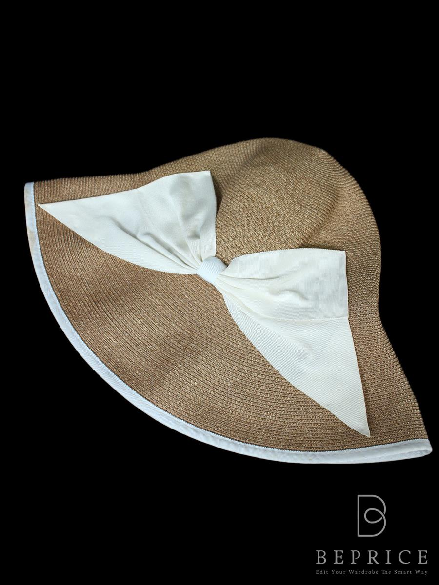 アシーナニューヨーク Athena New York アシーナニューヨーク 帽子 ハット ストロー フチシミあり