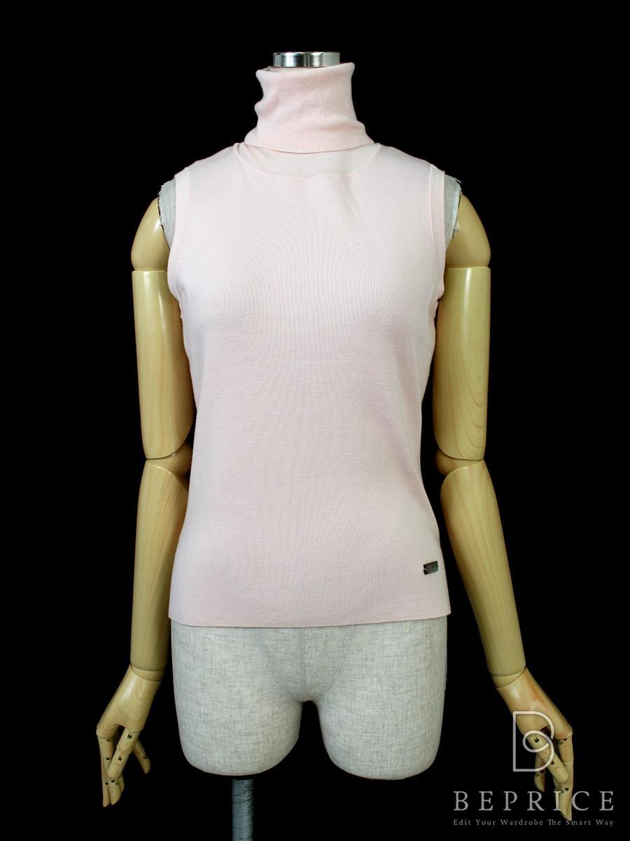 フォクシーブティック Tシャツ カットソー トップス Sleeveless Turtleneck Sweater 34578