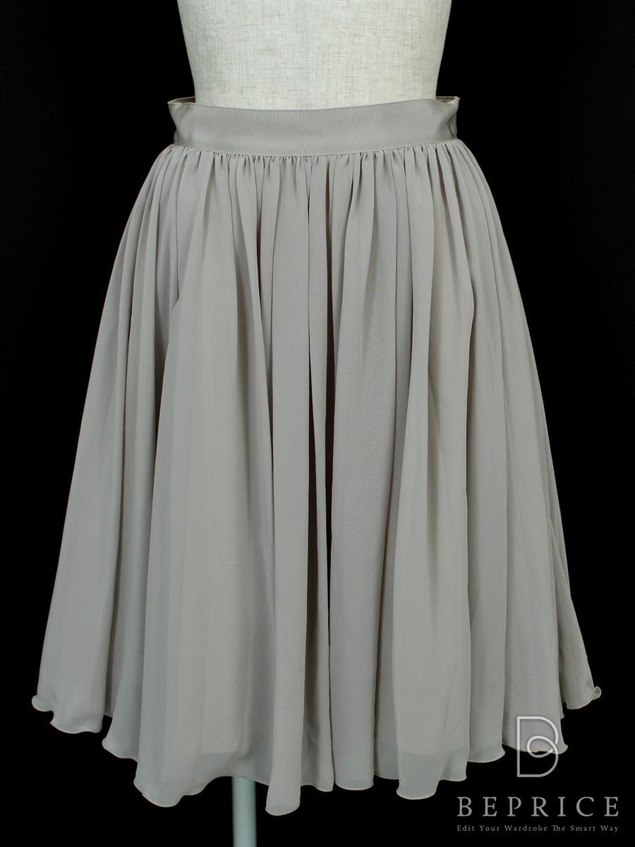 フォクシーニューヨーク スカート スカート マットシフォン 24534