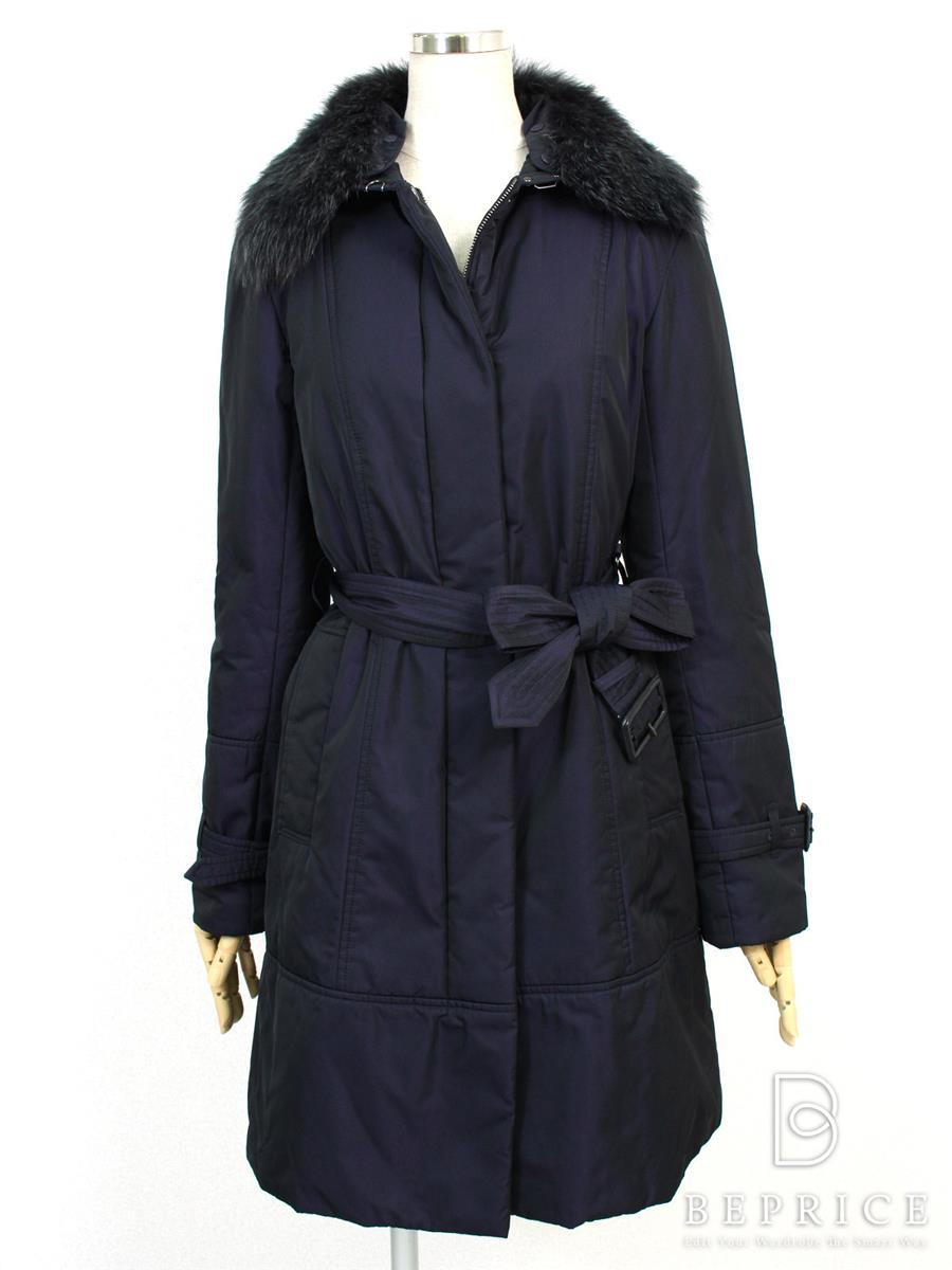 バーバリーロンドン コート コート 中綿 ジップアップ