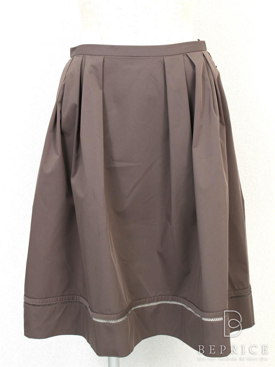 フォクシーニューヨーク スカート スカート ストレッチグログラン スカート内薄いシミあり 22637