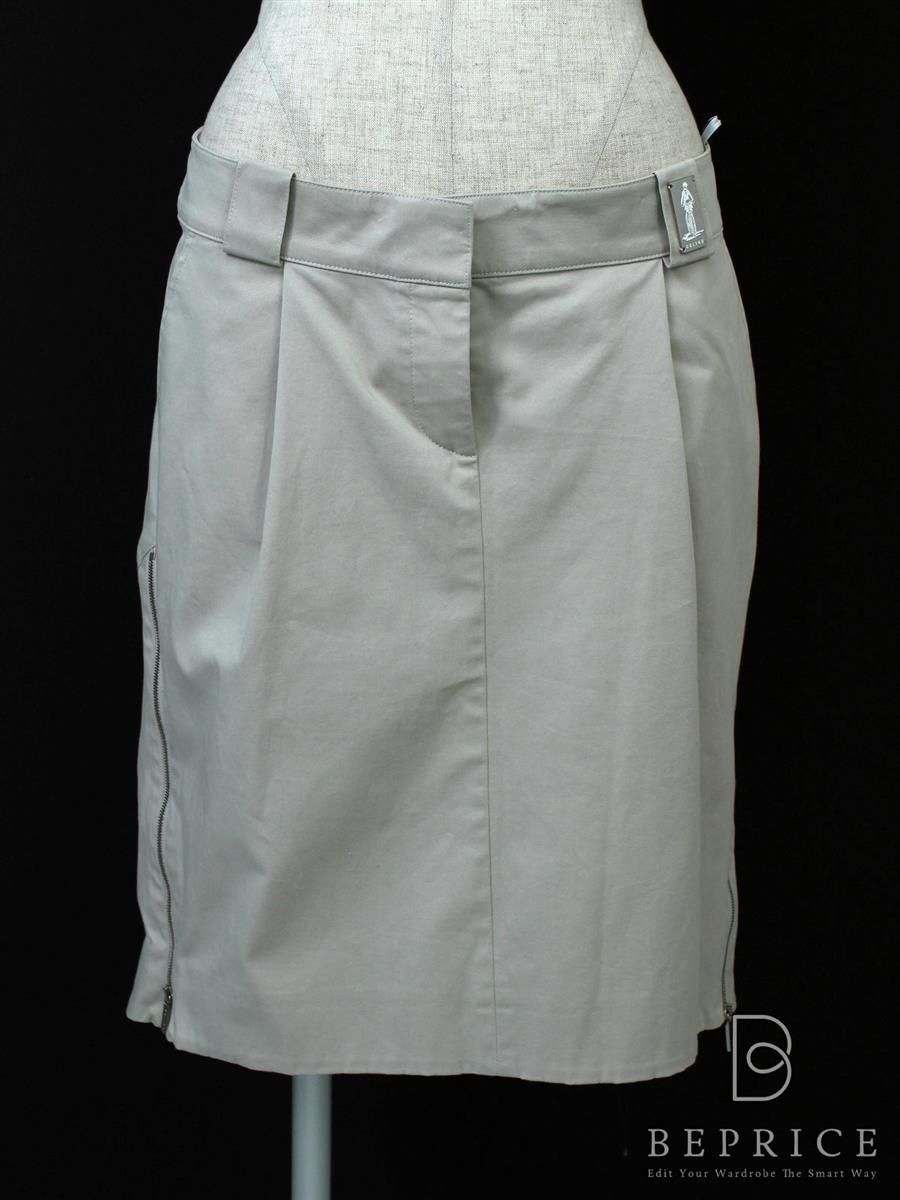 セリーヌ スカート スカート サイドジップ