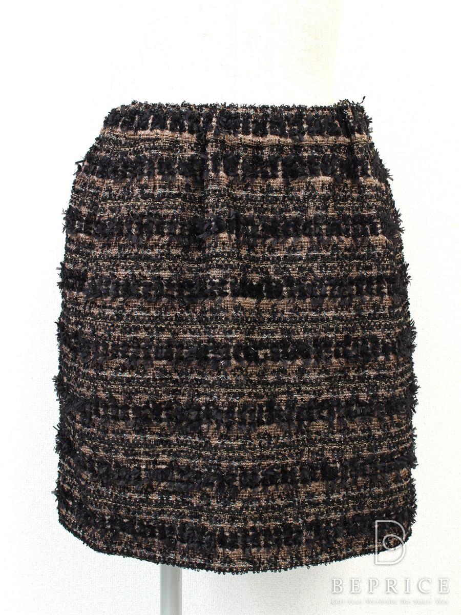 ドゥロワー スカート スカート ツイード
