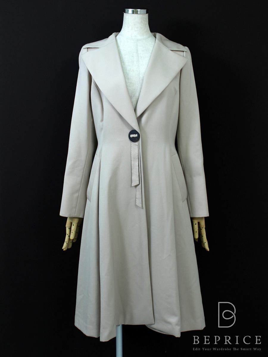 フォクシーブティック コート コート 衿付 裾薄汚れあり 24428