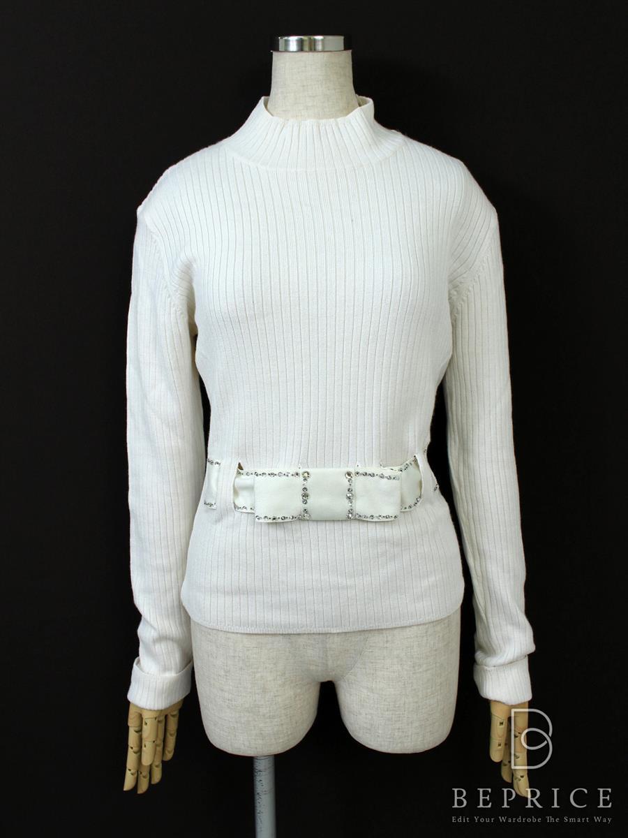 エムズグレイシー Tシャツ カットソー トップス ストレッチ 長袖
