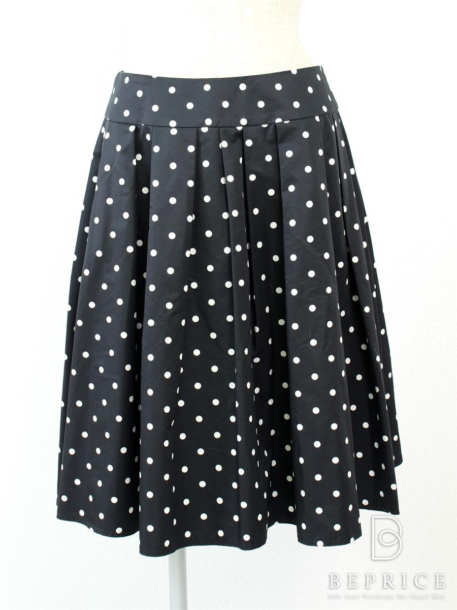 エムズグレイシー スカート スカート ドット柄