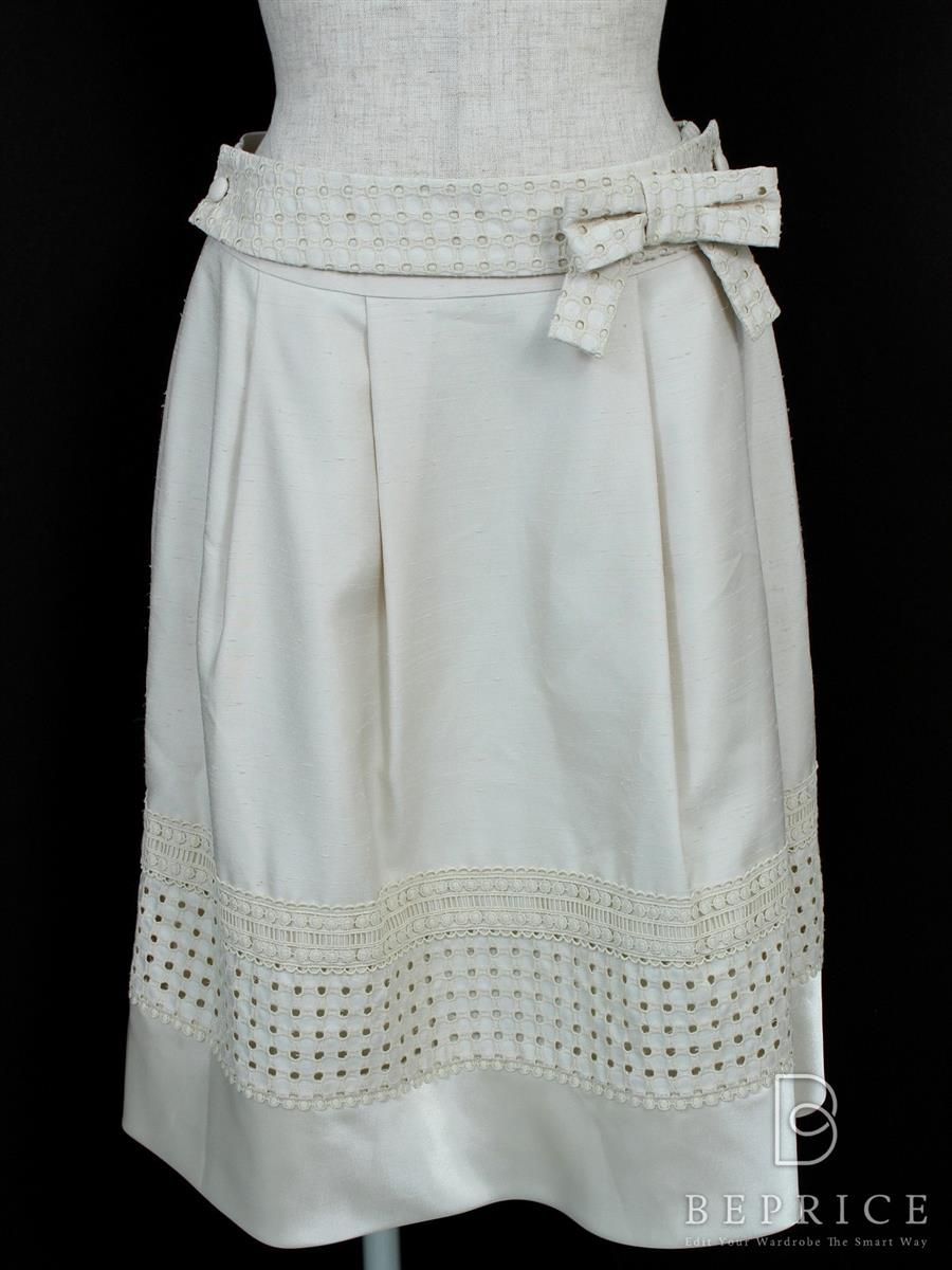 トゥービーシック スカート スカート 裾刺繍