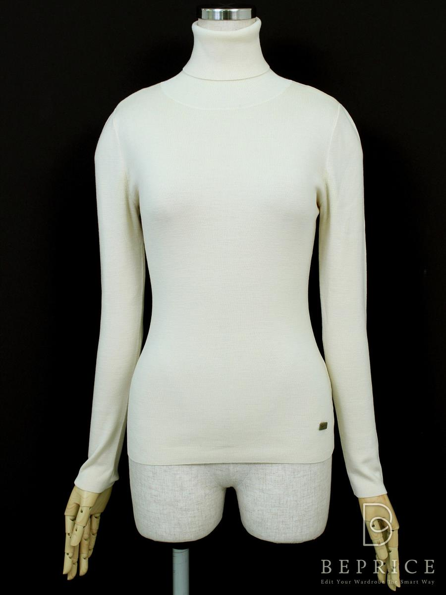 フォクシーブティック ニット セーター トップス グレースウールセーター 脇シミあり 25952