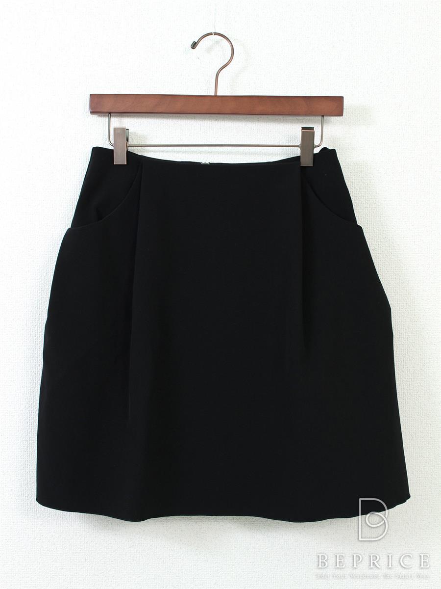 フォクシーニューヨーク スカート スカート イリプスフレアー 32461