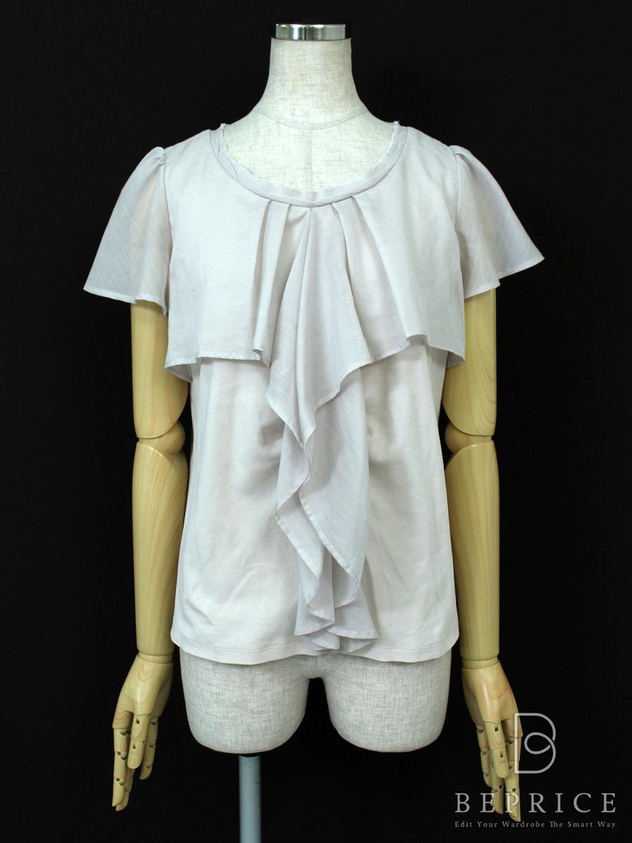 エムズグレイシー Tシャツ カットソー トップス 半袖 脇下毛玉あり