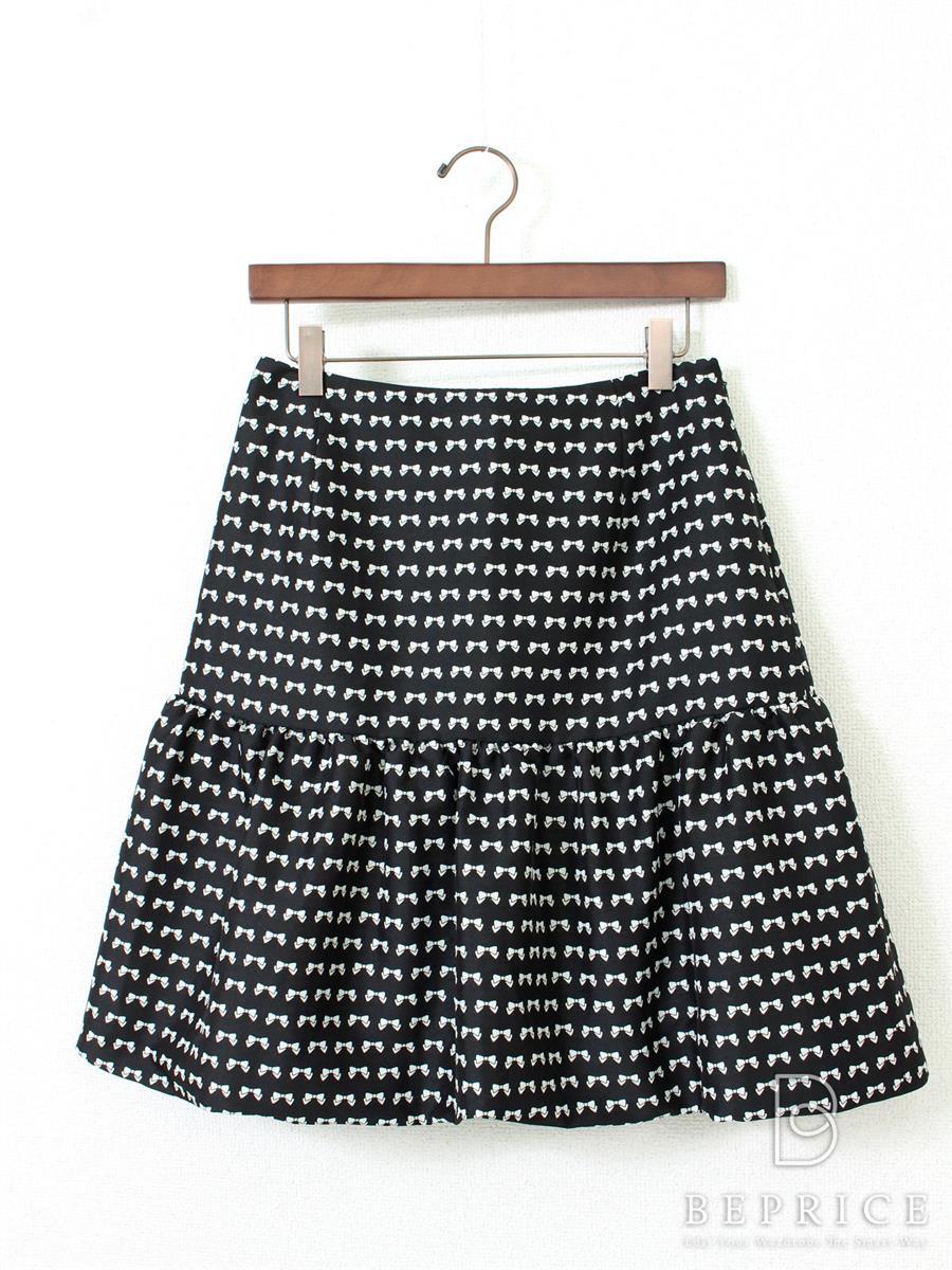 エムズグレイシー スカート スカート バルーン リボン柄