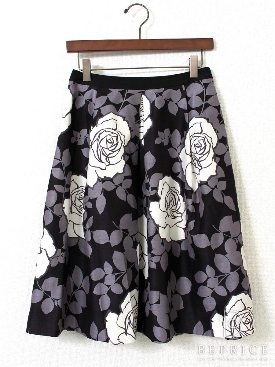 エムズグレイシー スカート スカート 花柄 フレアー
