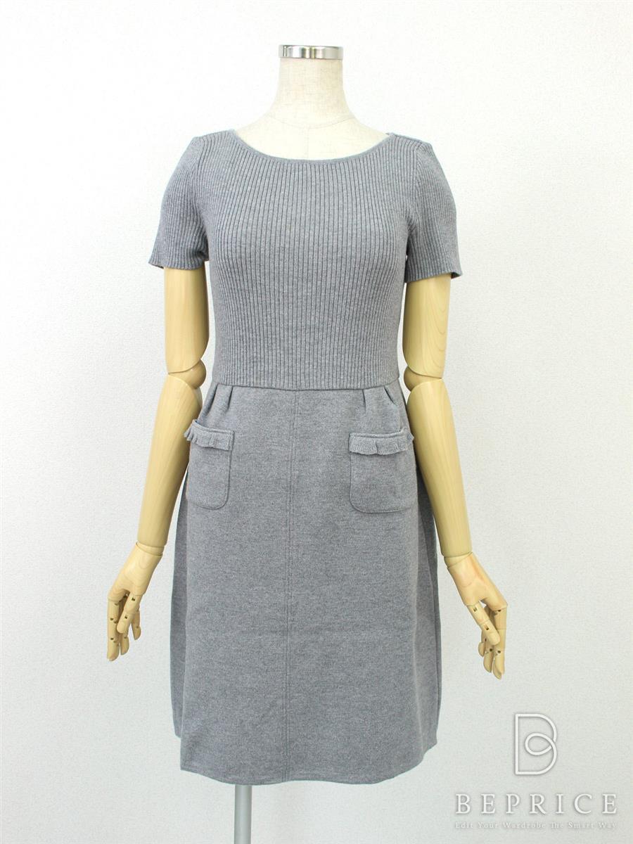 フォクシーブティック ワンピース ワンピース(Knit) スカート内目立つシミあり 34576