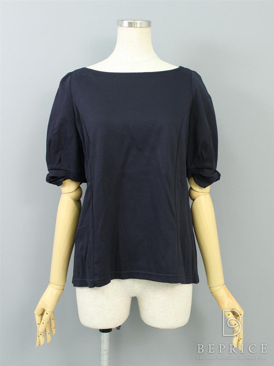ルネ Tシャツ カットソー トップス 半袖 ストレッチ 毛羽立ちあり