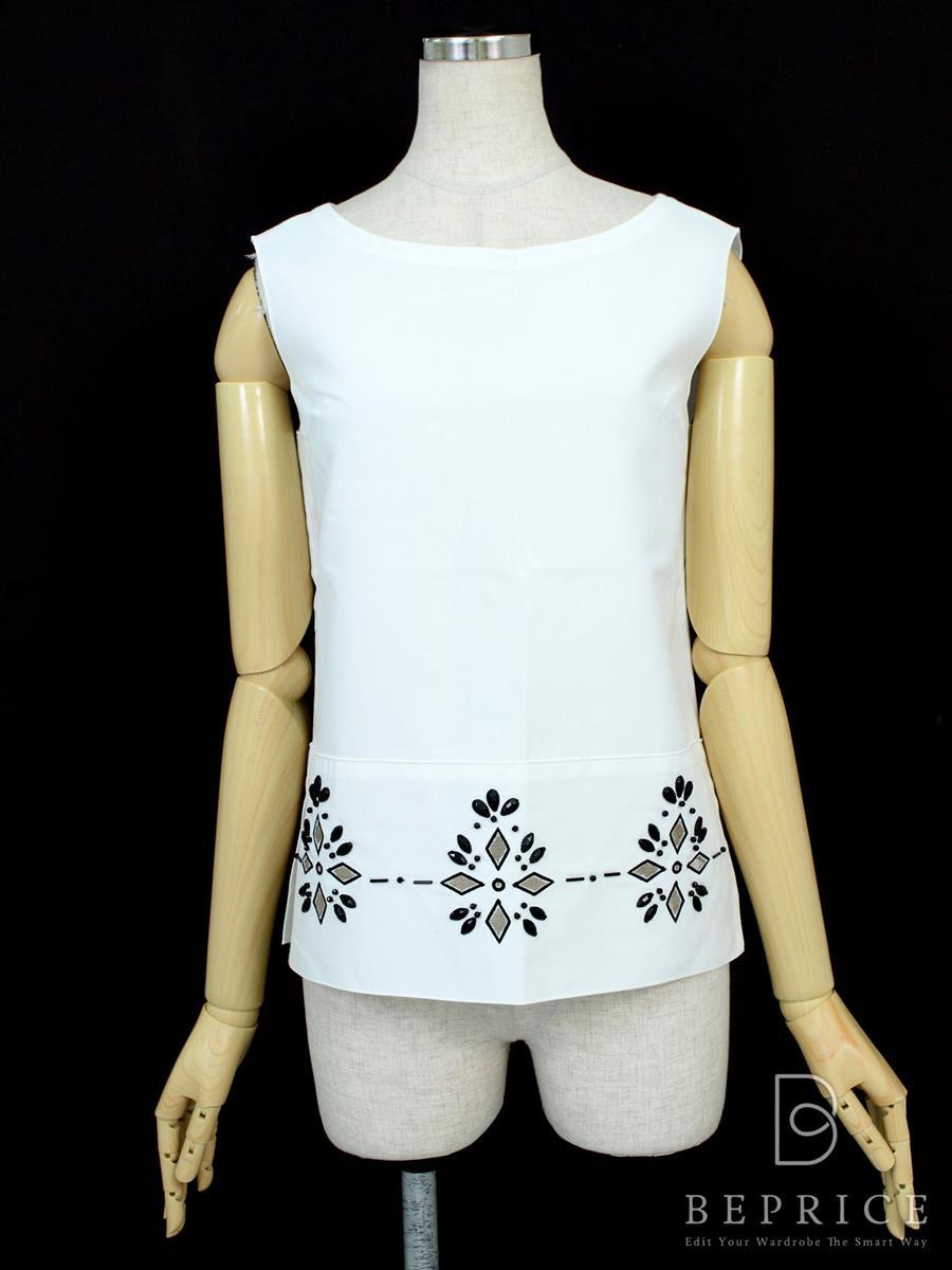 フォクシーブティック Tシャツ カットソー トップス アラベスク 32103