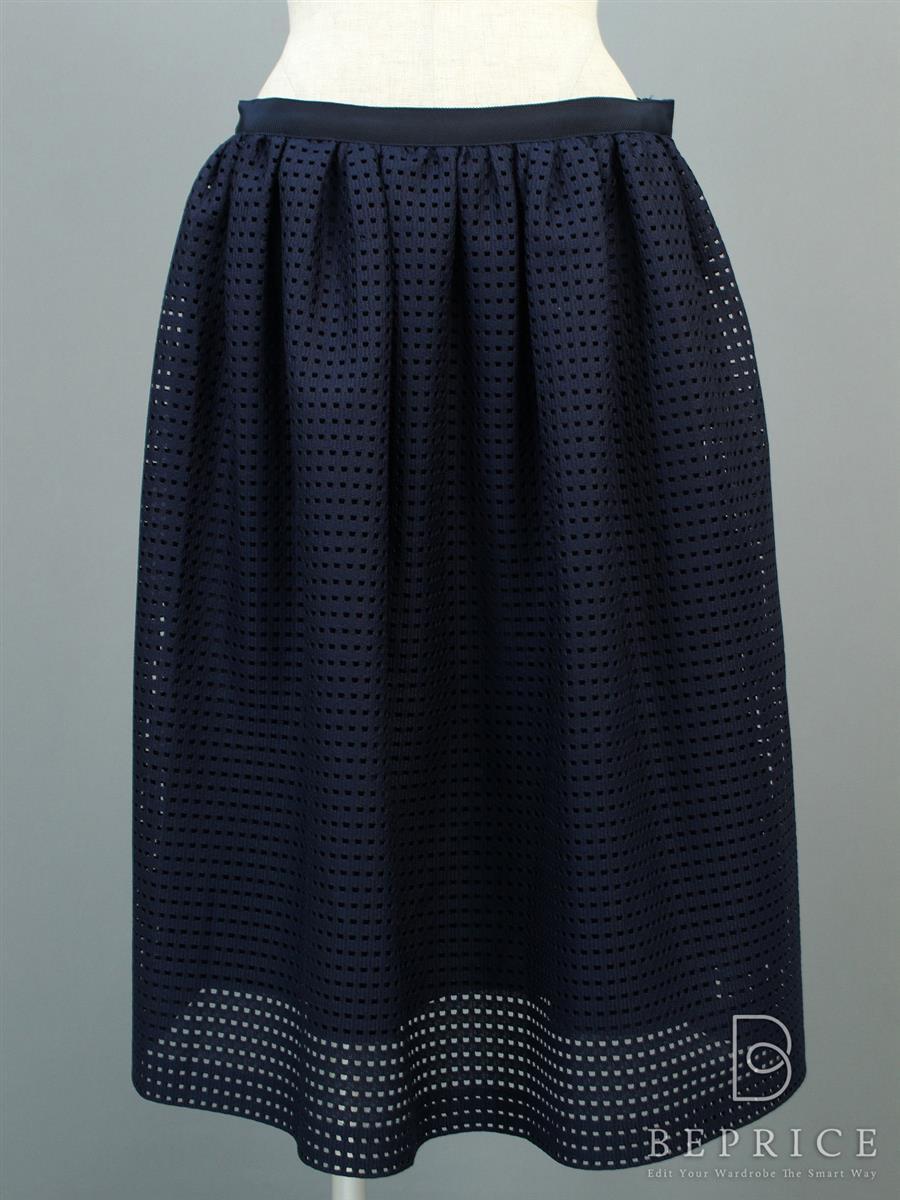 フォクシーニューヨーク スカート スカート Square Lace 34550