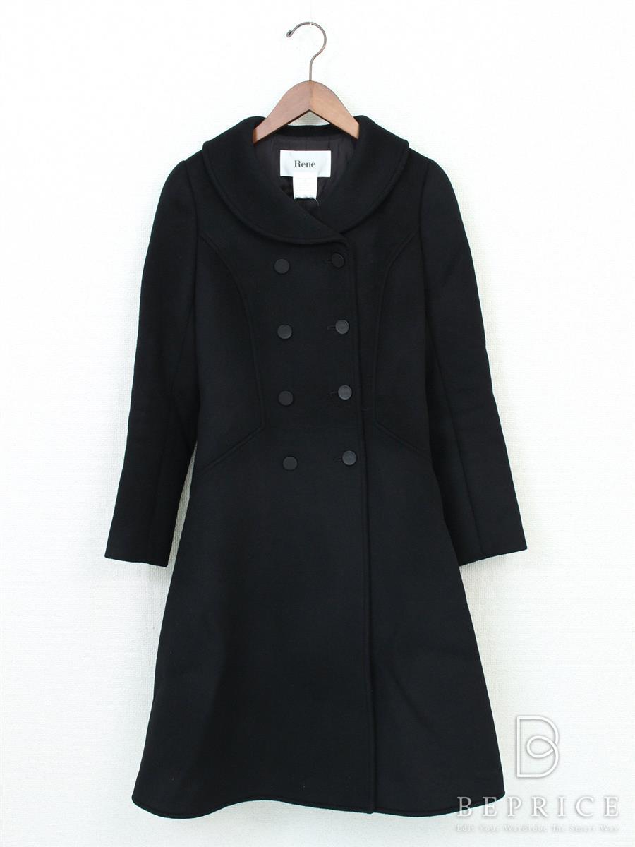 ルネ コート コート 衿付