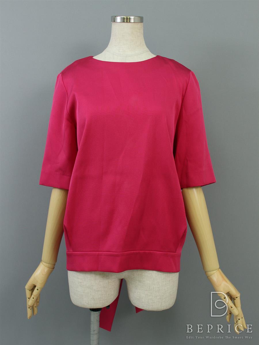 アドーア Tシャツ カットソー トップス 半袖 薄汚れあり