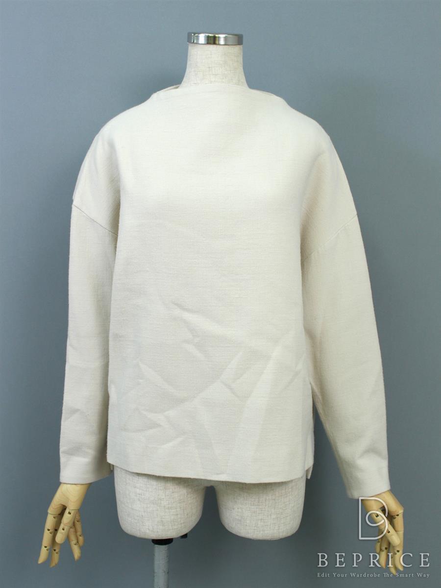 エンフォルド Tシャツ カットソー ENFOLD エンフォルド トップス 長袖 若干毛羽立ち