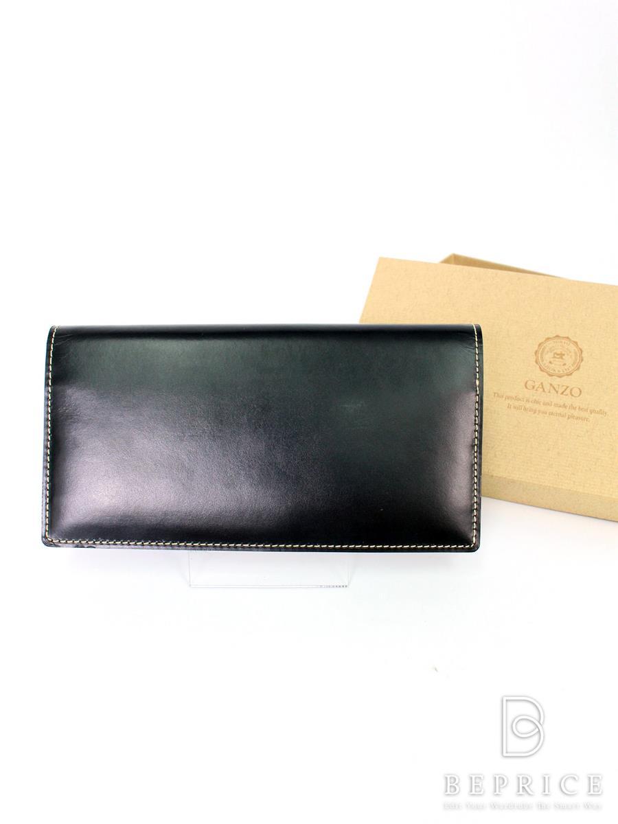 ガンゾ 財布 GANZO ガンゾ 二つ折り 長財布 ブライドルカジュアル