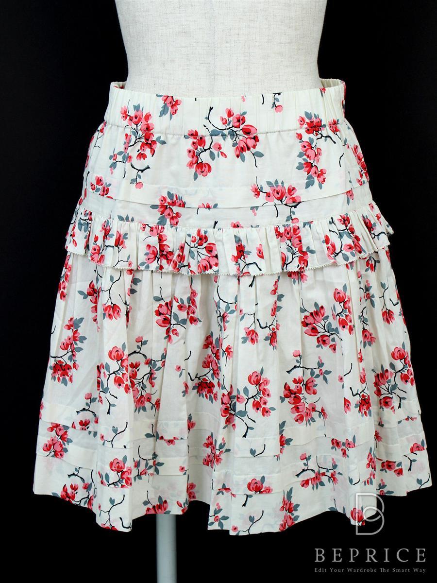 レッドヴァレンティノ スカート スカート 花柄