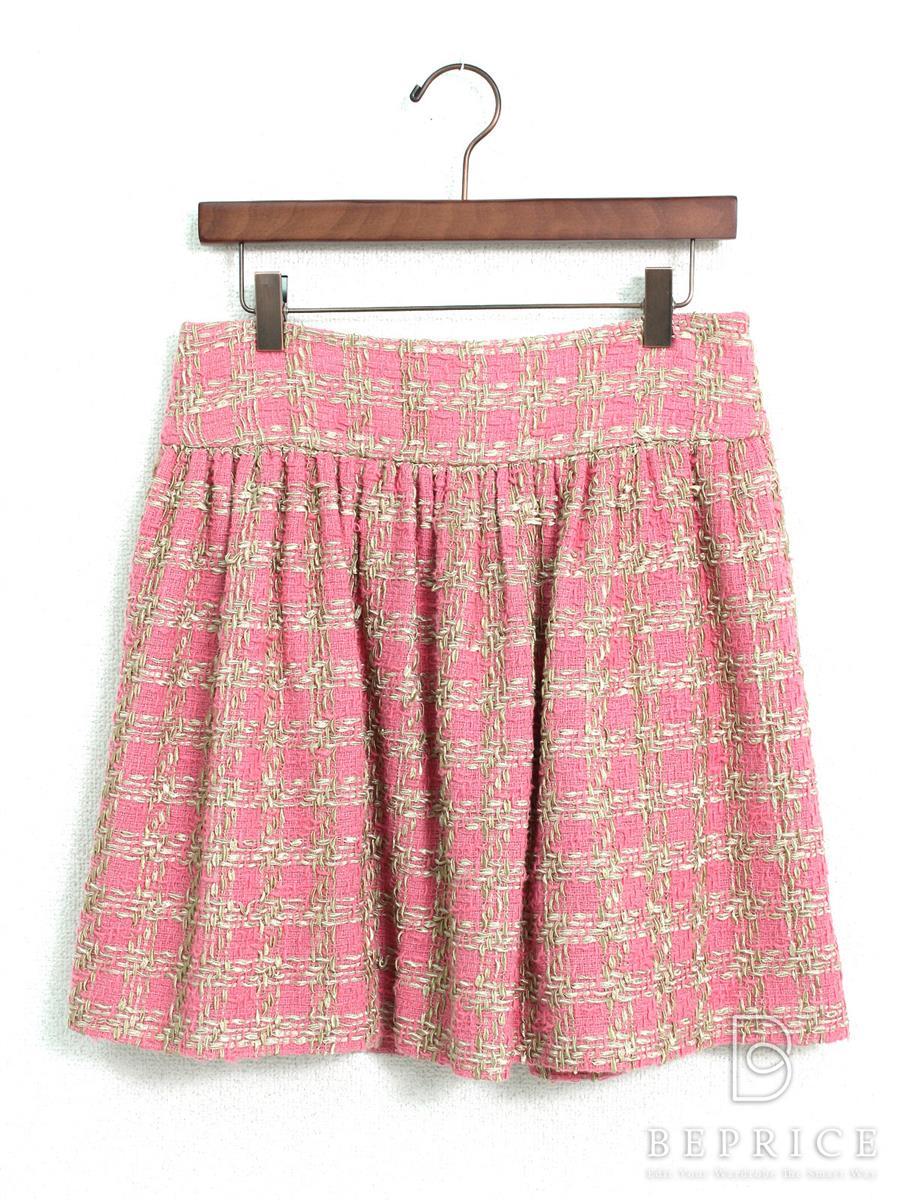 レッドヴァレンティノ スカート スカート ツイード風
