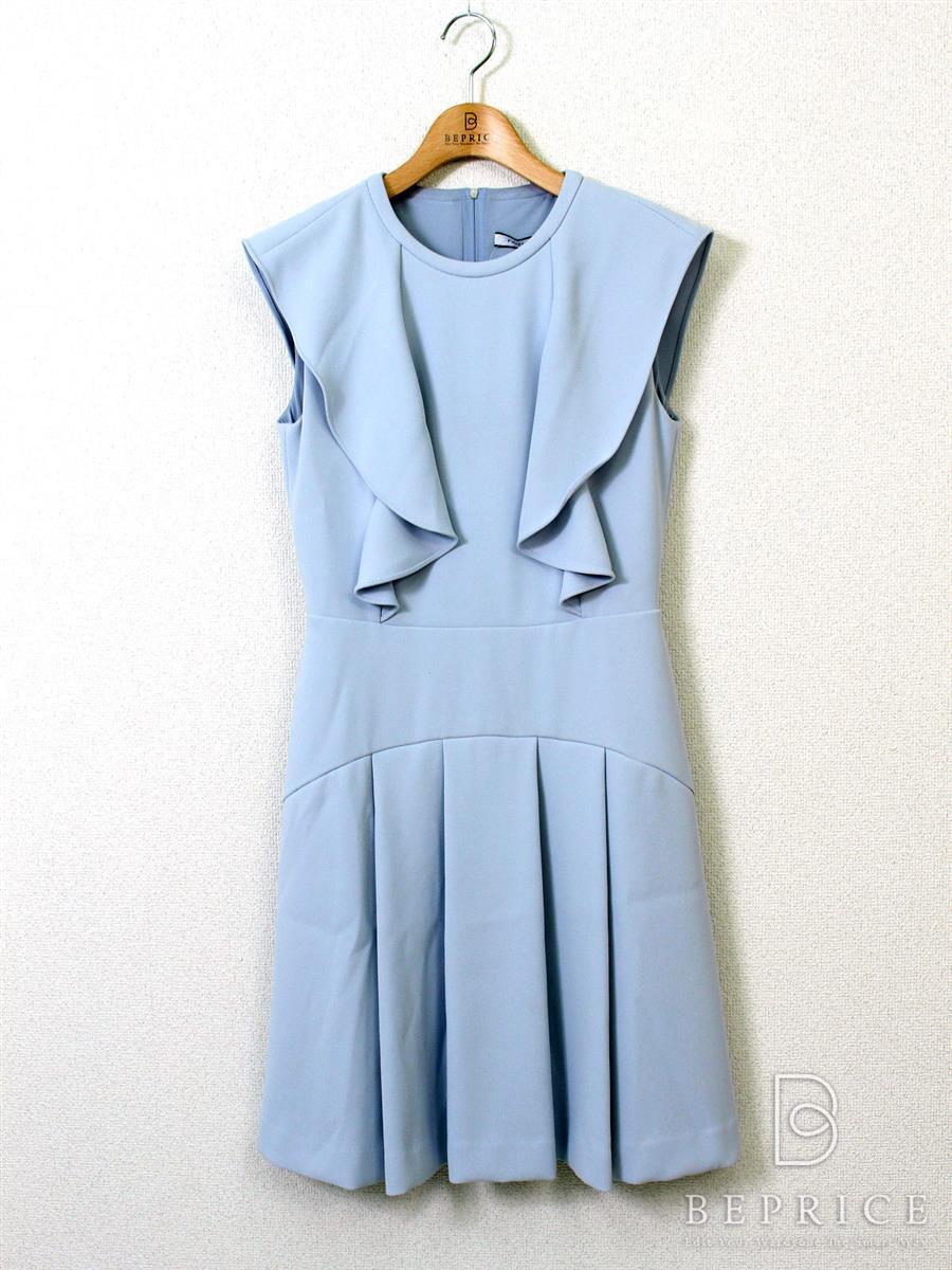 フォクシーニューヨーク ワンピース Crepe flounce Dress