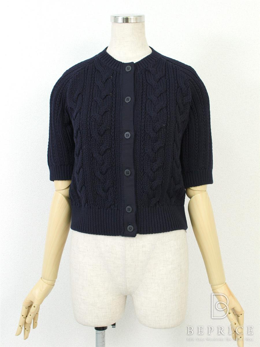 フォクシーニューヨーク Collection カーディガン カーディガン Baby Cable Sweater Cardigan Collection 35668