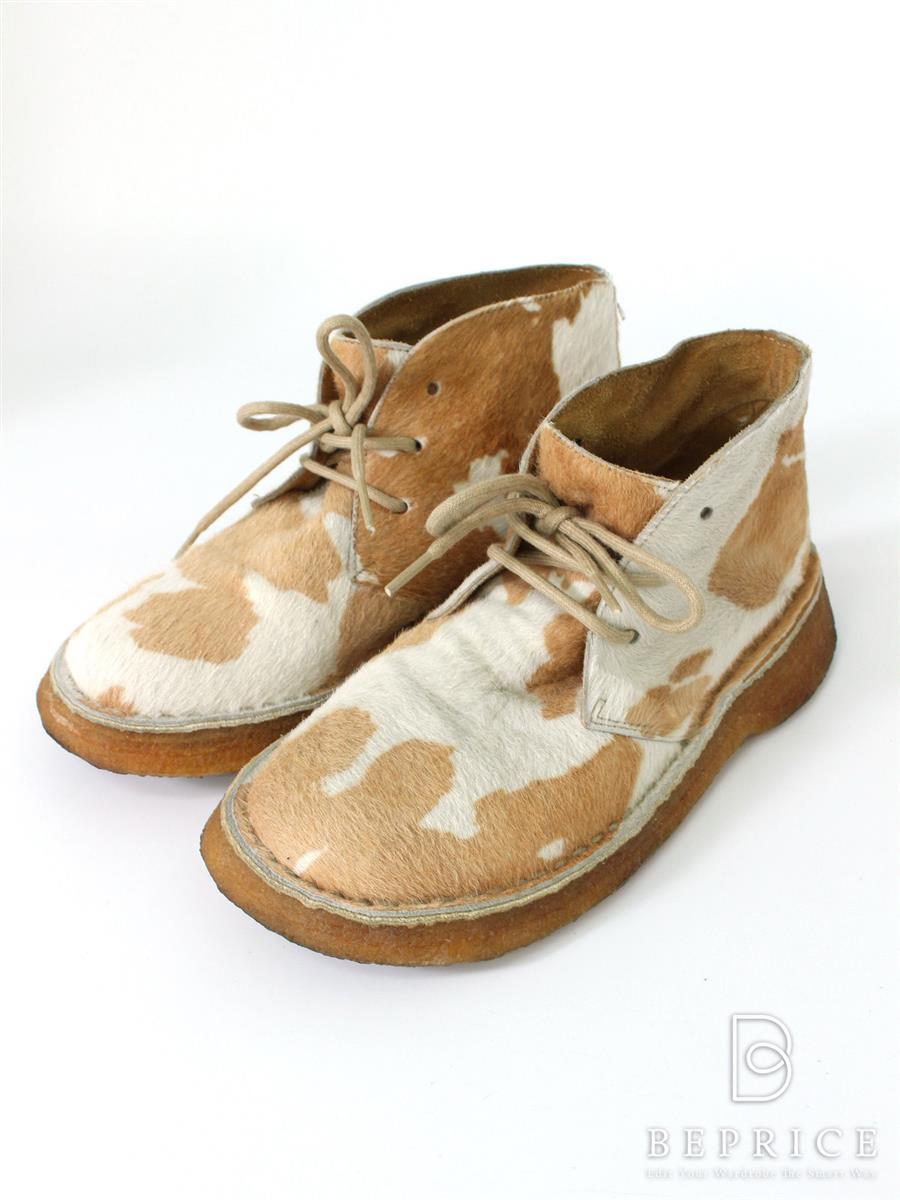 カンペール ブーツ ハラコ
