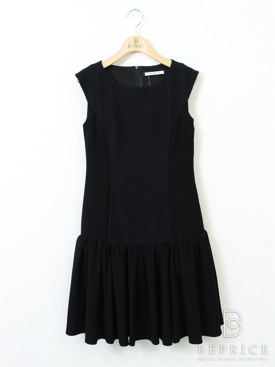 フォクシーニューヨーク Front Mesh Dress