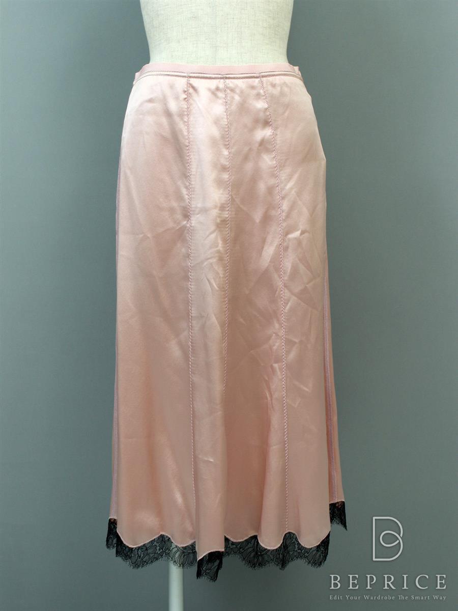 プラダ スカート シルク フレアー