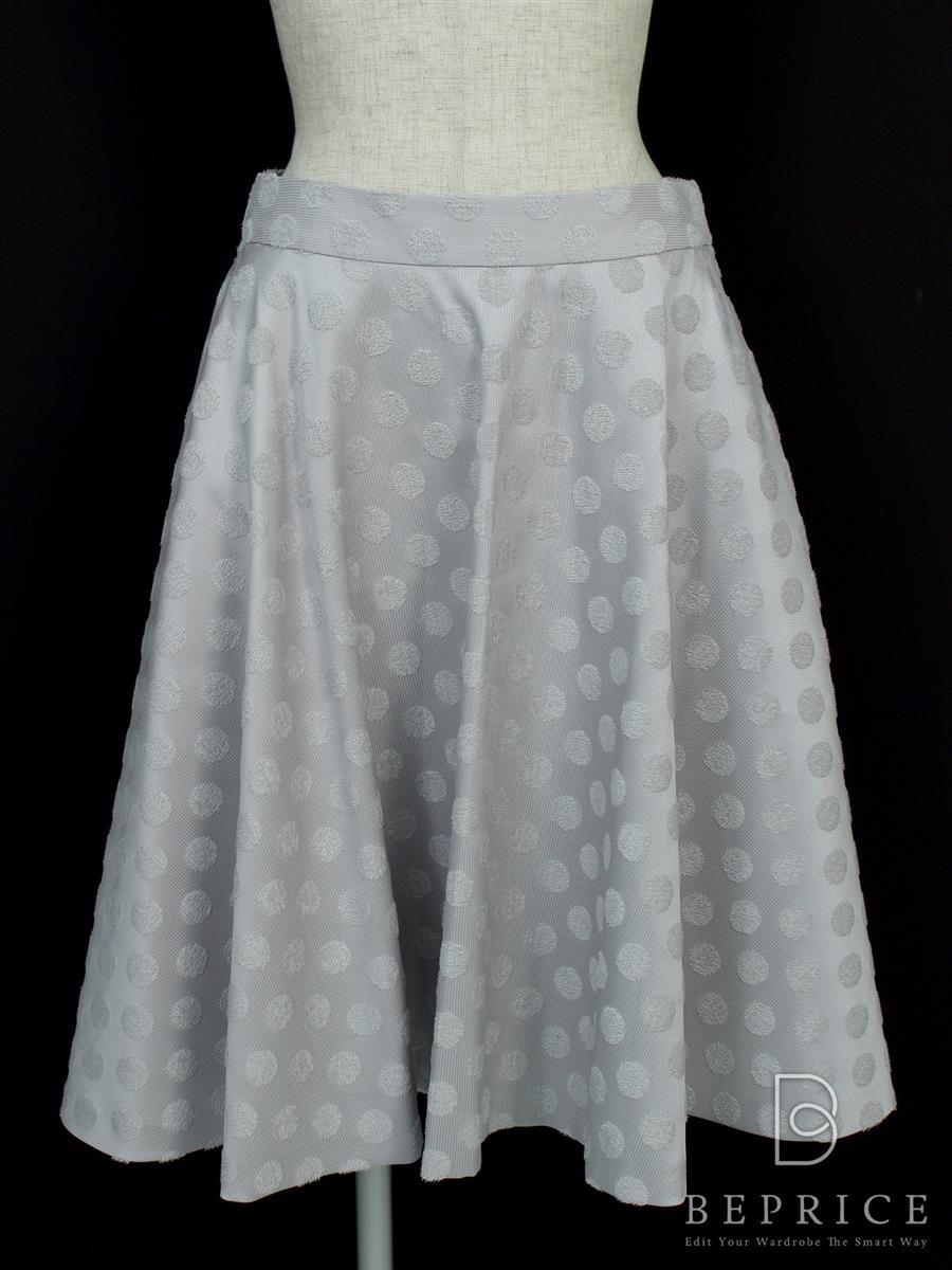 コトゥー スカート フレアスカート ドット柄