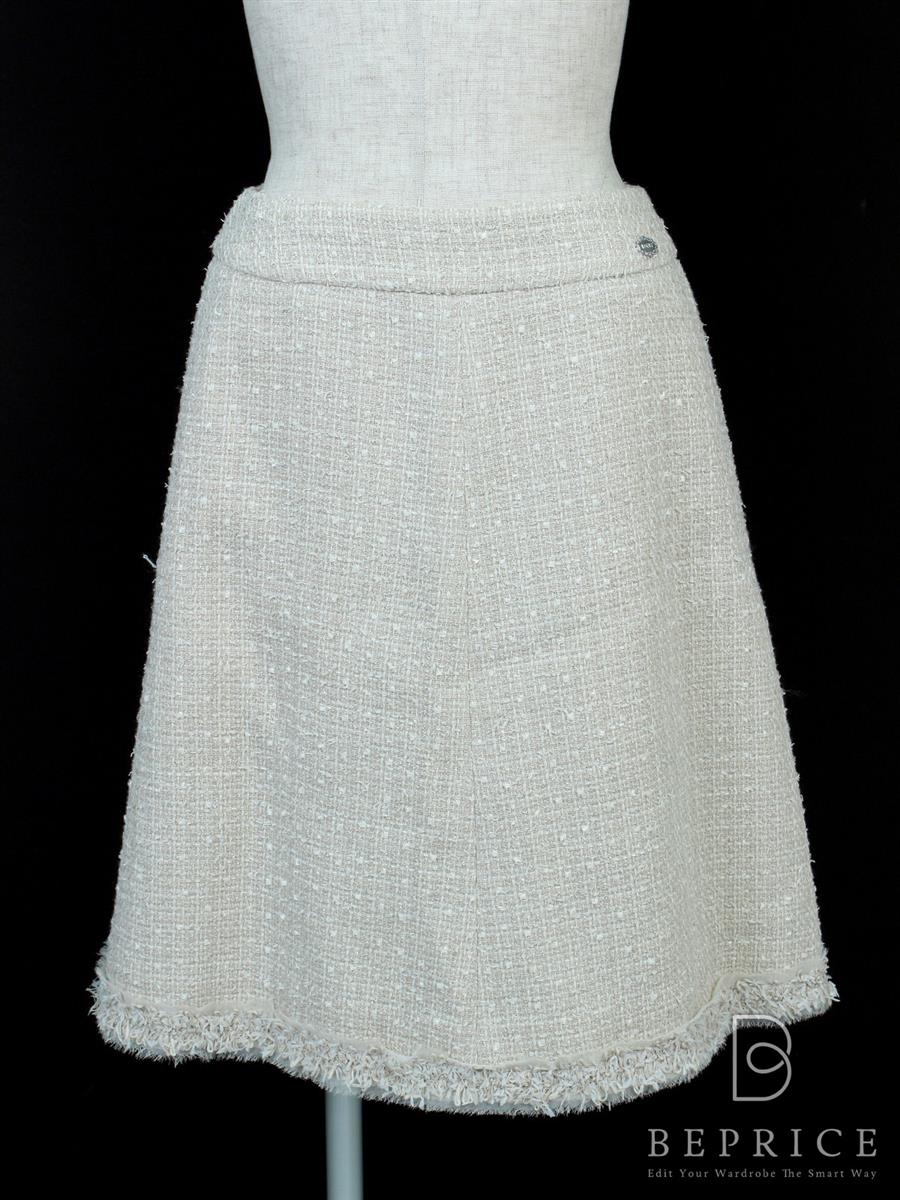 フォクシーブティック スカート スカート クラシックツイード 35282